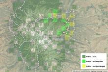 East Crazy Mountains and Inspiration Divide Public Access Improvement Land Exchange