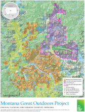 Montana Great Outdoors Project map
