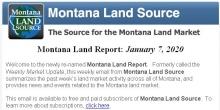 The Montana Land Report
