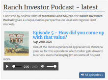 Ranch Investors Podcast Episode #6