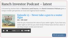 Ranch Investors Podcast Episode #13