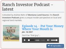 Ranch Investors Podcast Episode #14