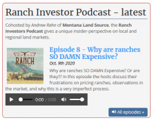 Ranch Investors Podcast Episode #8