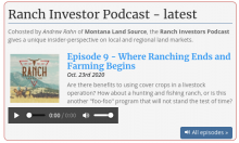 Ranch Investors Podcast Episode #11