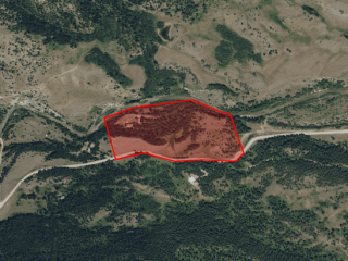 Map of 5436 Dearborn Canyon Road: 22.5 acres SW of Augusta