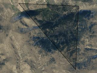 Map of 940 Slaughterhouse Road: 300.36 acres North of Anaconda