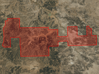Map of Bull Mountain Ranch: 11827 acres South of Musselshell