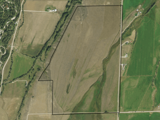 Map of Clear Creek School & East Bench Road: 241 acres NE of Red Lodge