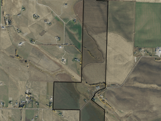 Map of Gooch Hill Farm: 192 acres SW of Bozeman