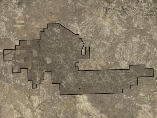 Map of Montana T-Rex Ranch: 8729 acres North of Jordan