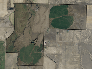 Map of Willow Creek Preserve: 768 acres South of Willow Creek
