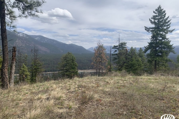 Scenic Overlook Of The Thompson Falls Valley And Clarkfork Rivers