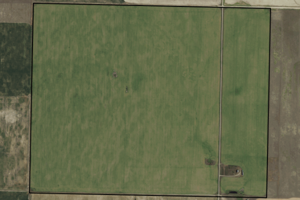 Map of 797 acres in Liberty County: 797.79 acres NE of Chester