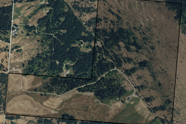 Map of 91 Turning Leaf Academy Lane: 319.78 acres North of Trout Creek
