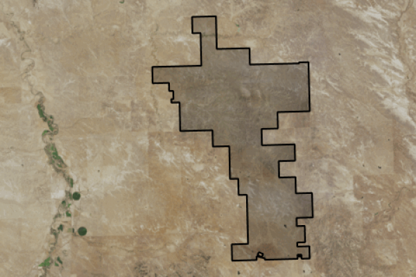 Map of Antelope Creek Ranch: 29480 acres East of Roundup