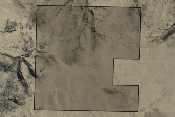Map of Bradley Creek: 602.776 acres SE of Norris
