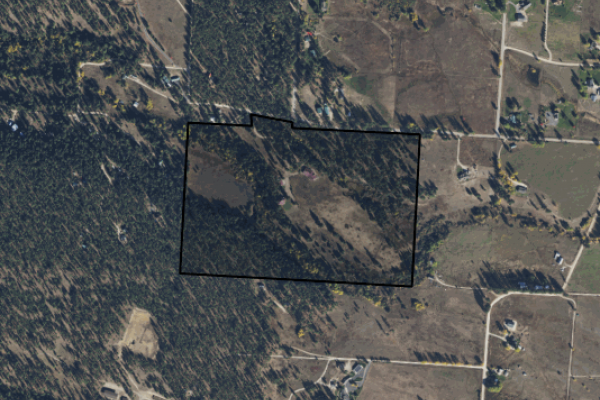 Map of Diamond Rock Ranch: 60.69 acres West of Stevensville