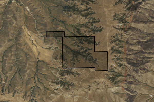 Map of Highway 87: 209.7 acres SE of Billings