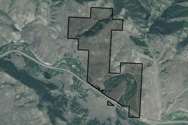 Map of JP Land & Cattle: 4183 acres NW of Drummond