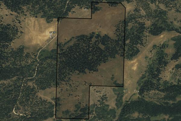 Map of Mcclellan Creek Road: 220 acres SE of Helena
