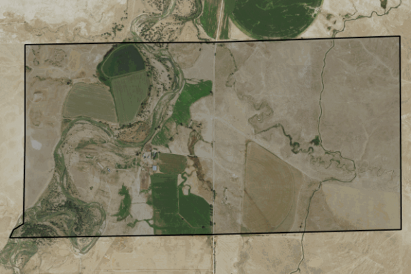Map of Newman Ranch Trust: 1086 acres NE of Melstone