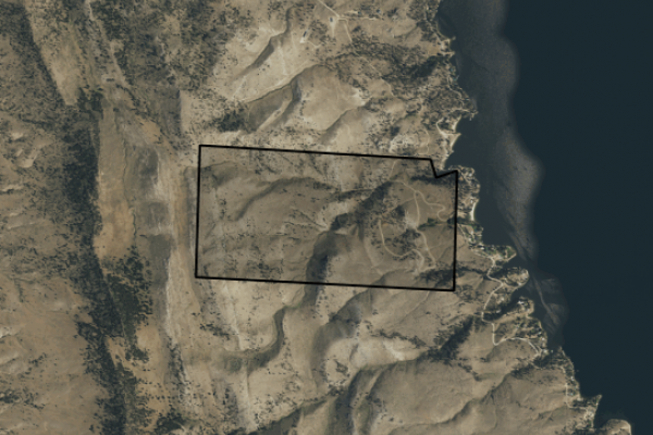 Map of Orchard Springs Lodge: 315.53 acres East of Helena