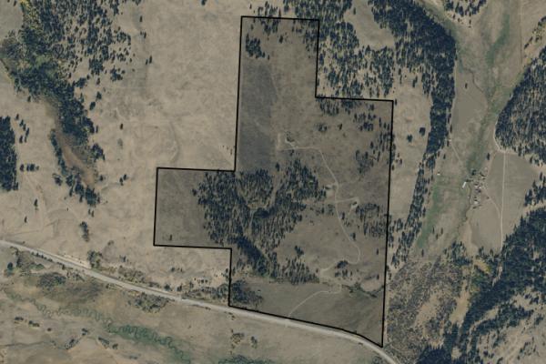 Map of Ovando Mountain Ranch: 315 acres East of Ovando