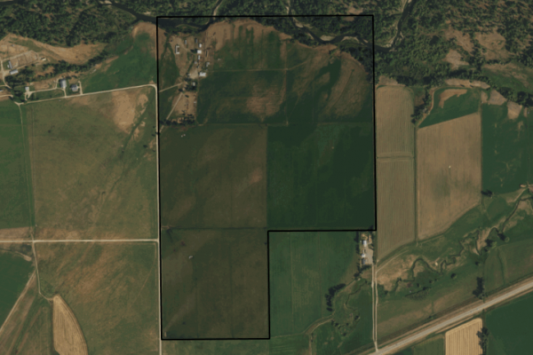 Map of Pick Ranch: 200 acres NE of Boyd