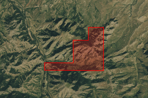 Map of Postill Creek Ranch: 933.26 acres East of Great Falls