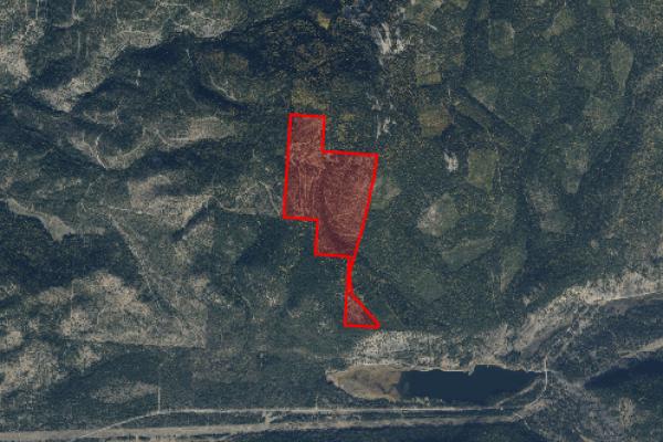 Map of Rainbow Lake Road: 317 acres NE of Plains