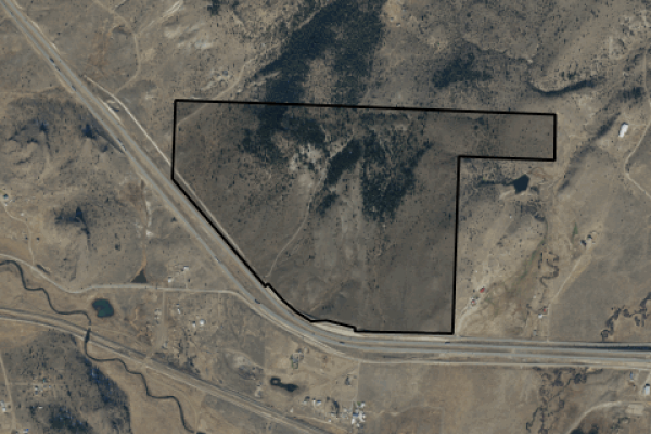 Map of Ramsay Road: 251.39 acres West of Butte