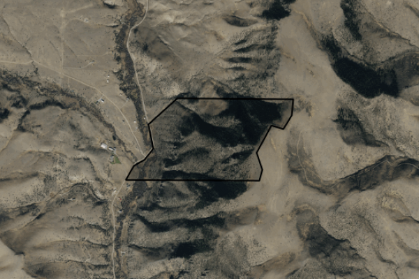 Map of Red Star Ranch: 238 acres SW of Livingston