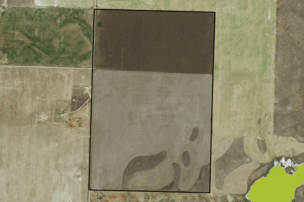 Map of Reed Road: 240 acres NW of Shelby