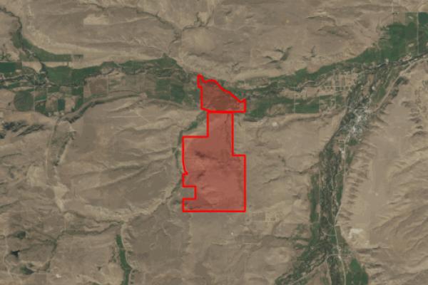 Map of Rhyneer Ranch: 1500.803 acres West of Absarokee