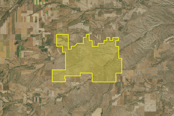 Map of Sage Creek Ranch: 9089.13 acres NW of Lewistown