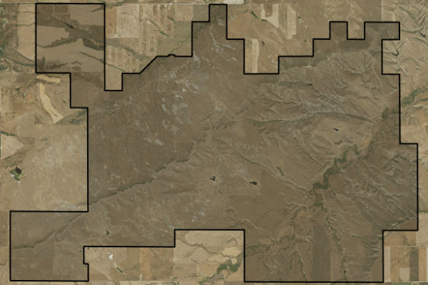 Map of Sage Creek Ranch: 9089 acres NW of Lewistown