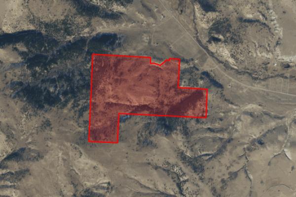 Map of Stucky Ridge Road: 313.36 acres North of Anaconda