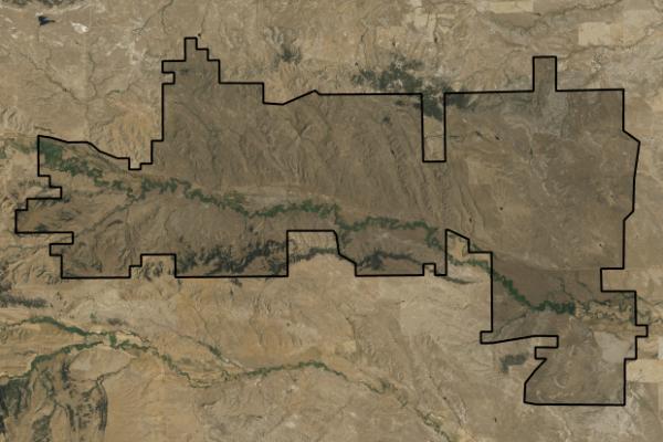 Map of Teigen Land & Livestock: 18760 acres East of Grass Range