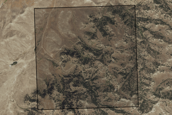 Map of Wyant Coulee Road: 640 acres SW of Forsyth