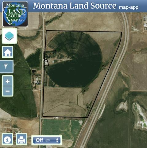 1438 US Hwy 91 North map image