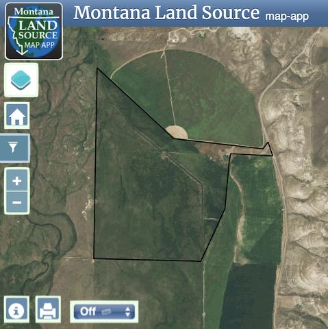 Buffalo Jump Ranch map image