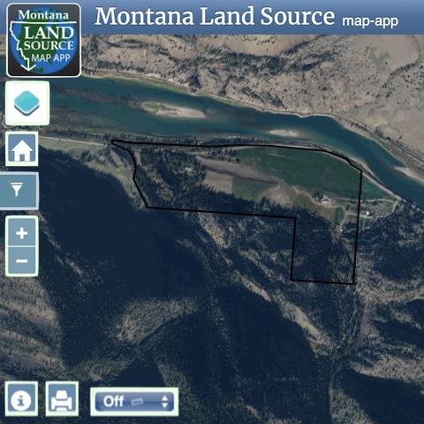 Burgess Miller Ranch map image