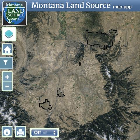 Climbing Arrow Ranch map image