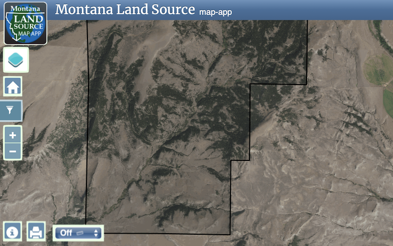 Crazy Mountain Ranch map image