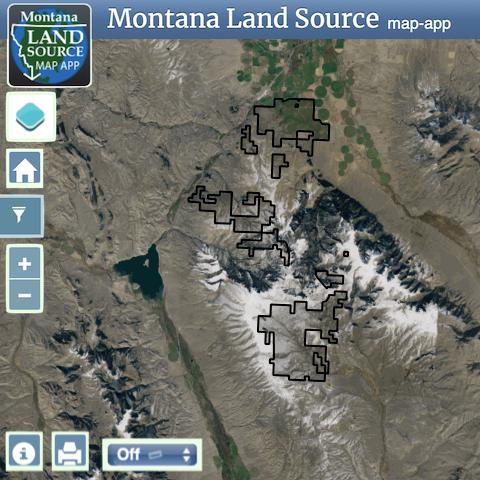 La Cense Ranch map image