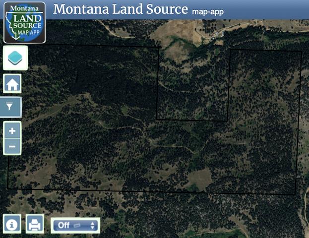 Quartz Creek map image