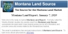 The Montana Land Report