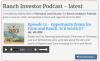 Ranch Investors Podcast Episode #12