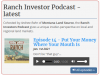 Ranch Investors Podcast Episode #14
