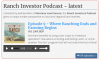 Ranch Investors Podcast Episode #9